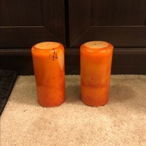 Other - 🍊Orange candles🍊